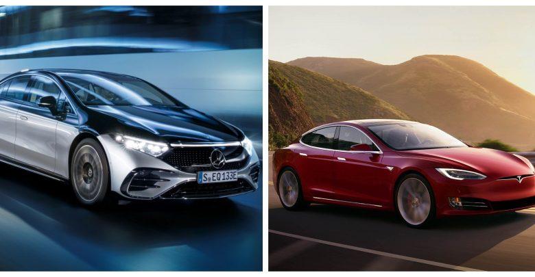 Model S vs EQS