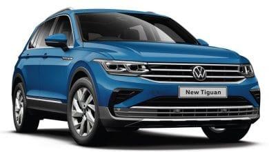 Volkswagen Tiguan facelift front