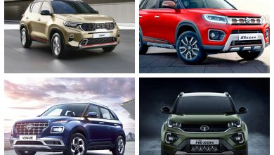 Kia Sonet vs Hyundai Venue vs Vitara Brezza vs Tata Nexon