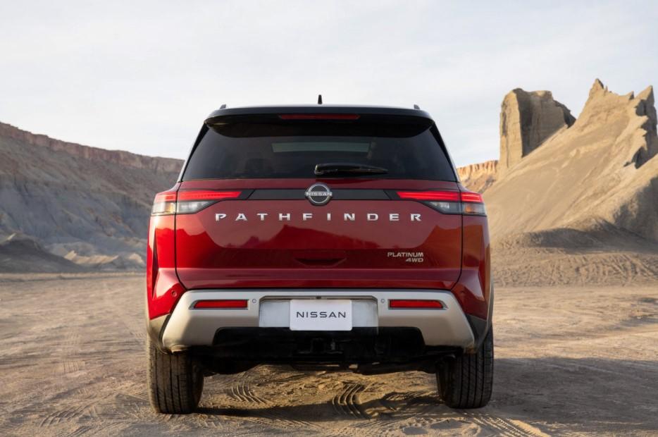 2022 Nissan Pathfinder Rear