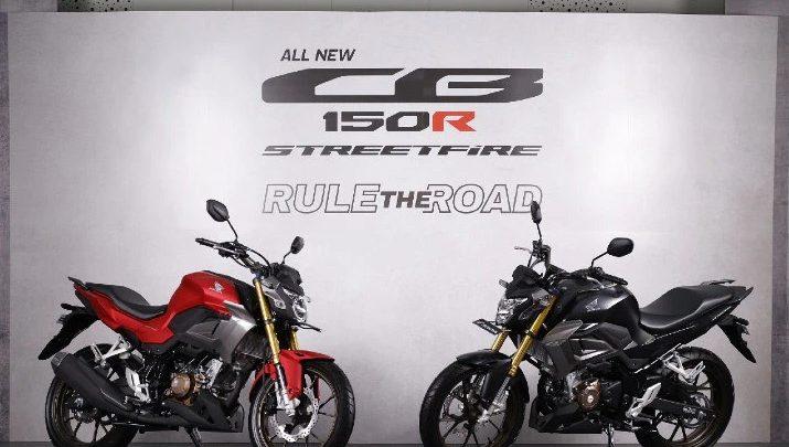 Honda CB150R bikes
