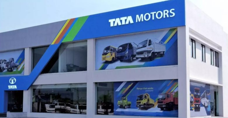 Tata Motors Commercial Vehicle Showroom