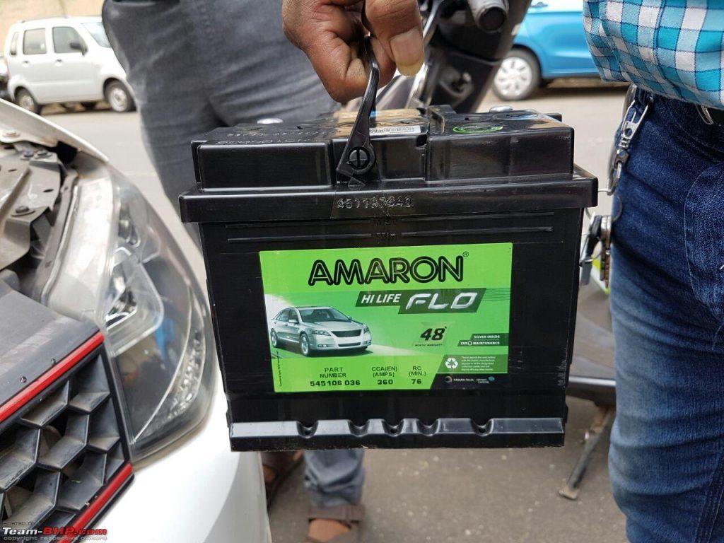 Amaron Flo- DIN 45 AH