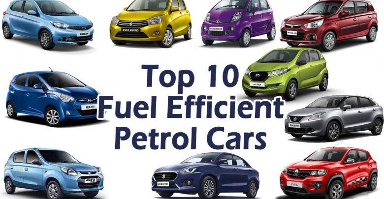 Best Mileage Petrol cars in India