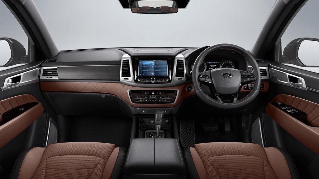Mahindra XUV 700 Interior Spotted