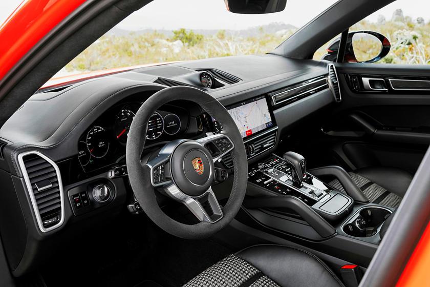 Porsche Cayenne Coupe Interior