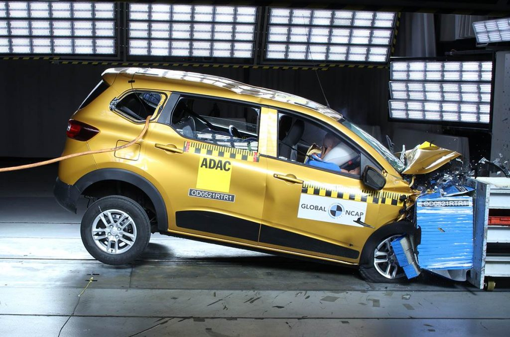 Renault Triber Crash Test