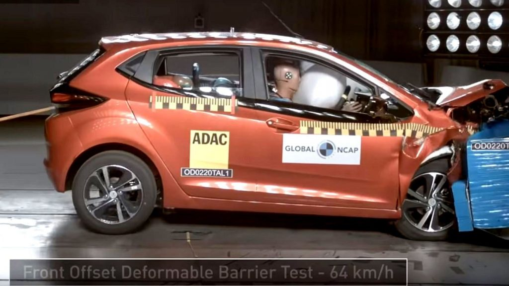 Tata Altroz becomes Second Indian made Car to achieve 5 Star Safety rating