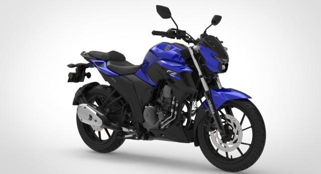 Yamaha FZ-S Dark Matt Blue