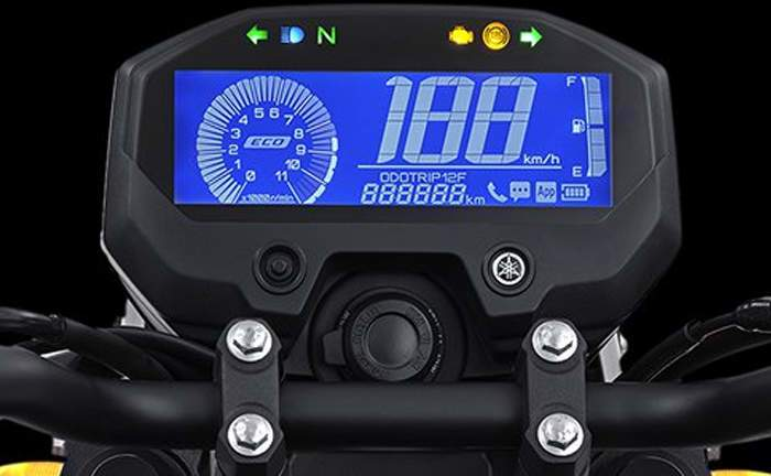 Yamaha FZ-X comes with Bluetooth connectivity as an option
