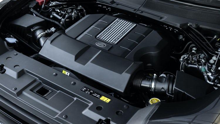 2021 Land Rover Defender 90 Engine