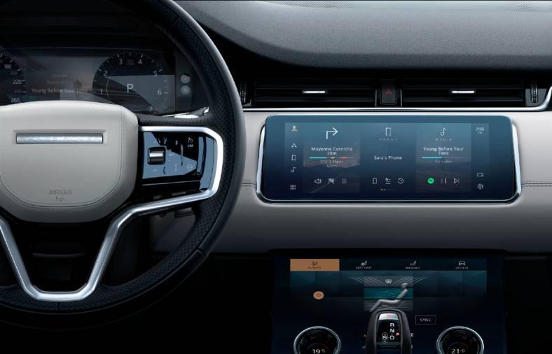 2021 Range Rover Evoque Interior