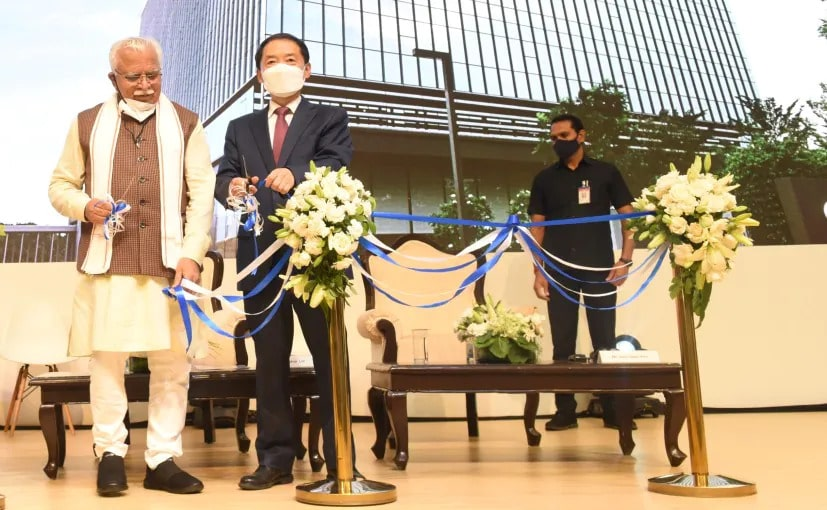 Hyundai new Headquarters was inaugurated by Manohar Lal Honorable Chief Minister of Haryana
