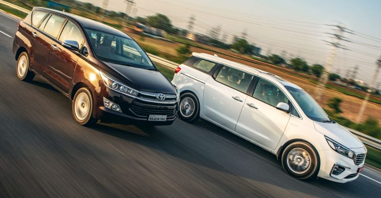 Kia Carnival Now Costs Similar To A Higher-Spec Toyota Innova Crysta