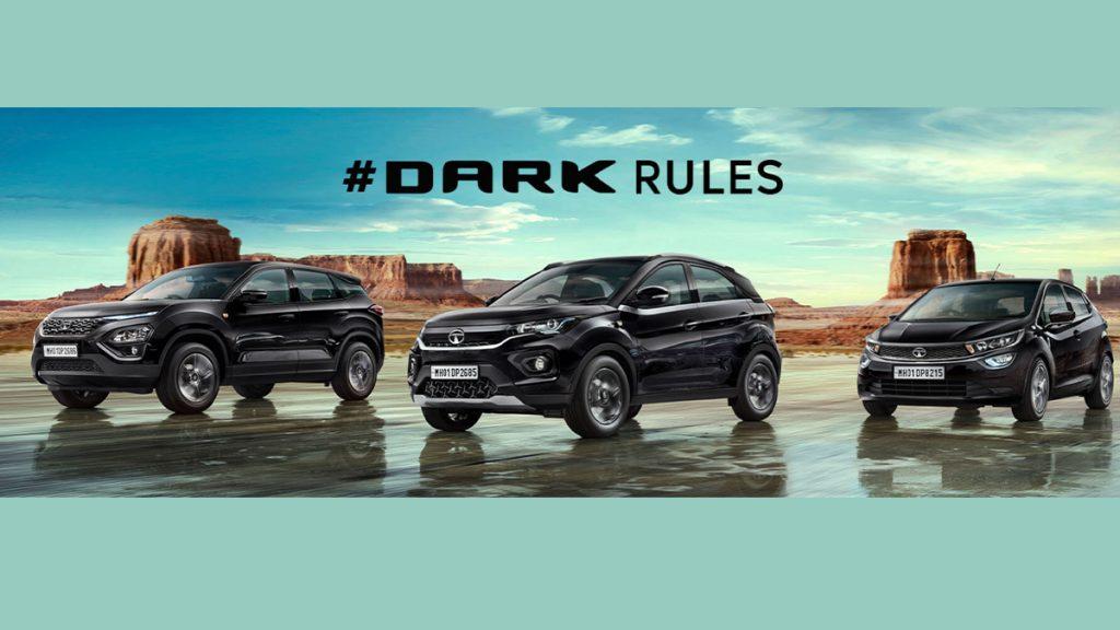 Tata Motors Introduces Altroz, Nexon And Harrier Dark Edition