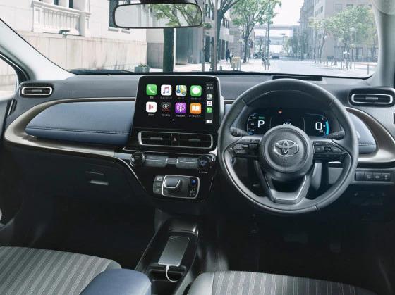 Toyota Aqua Interiors