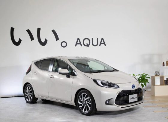 Toyota Aqua Hybrid Hatch Needs One Pedal To Brake And Accelerate