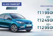 2021 Tata Tigor EV launched at Rs 11.99 lakh, offers 306-km range