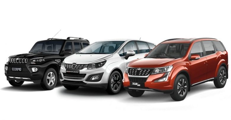 Mahindra to offer Discounts up to Rs 2.55 lakh in August 2021