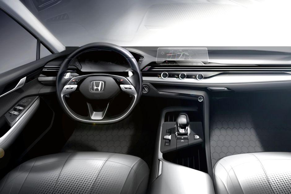 Honda N7X Interior