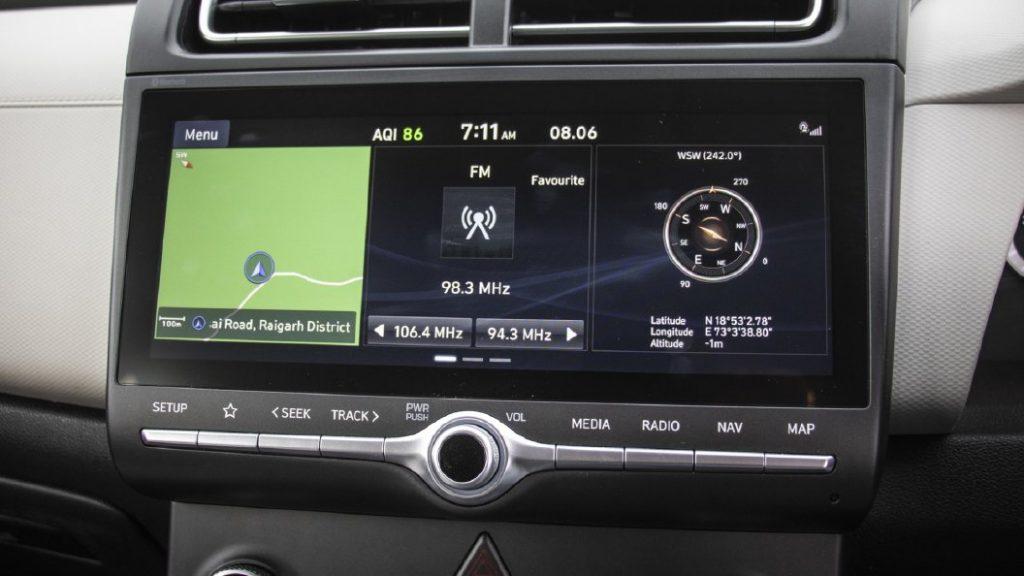 Hyundai Creta Infotainment System