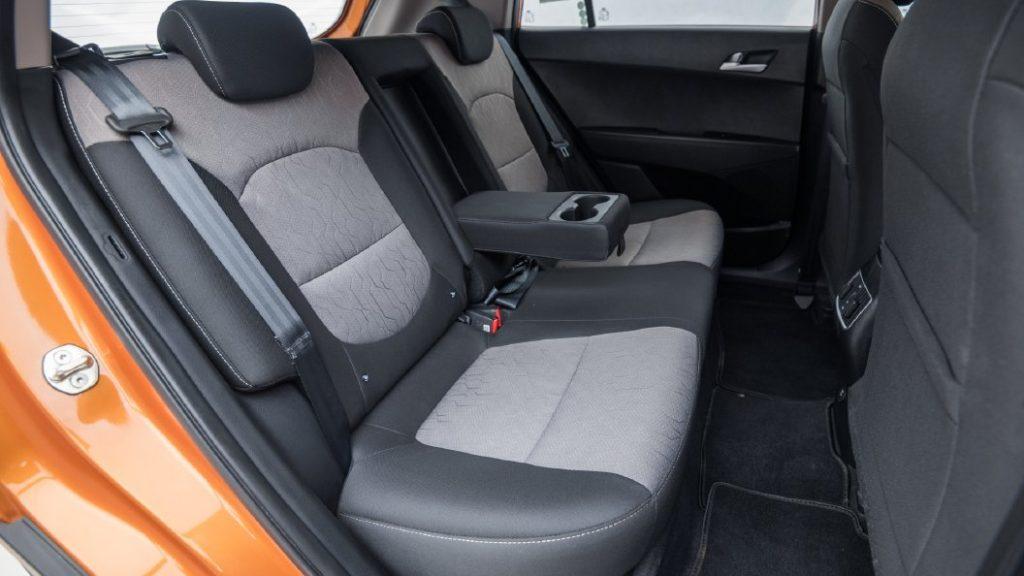 Hyundai Creta Rear Seat