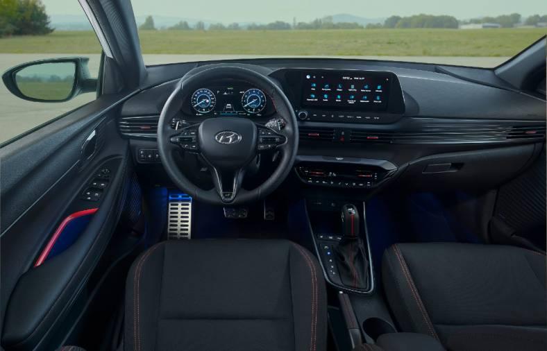Hyundai i20 N Line Interior