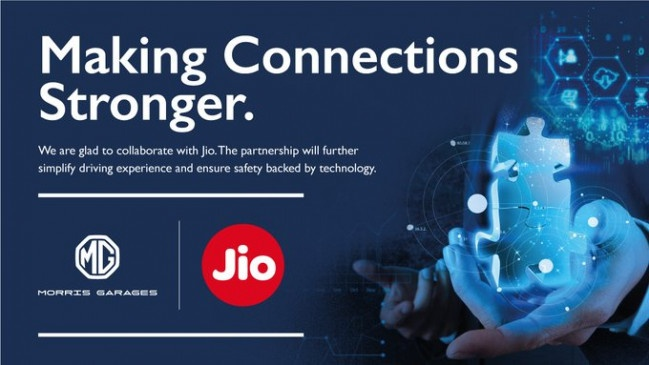 MG Motor And Jio Tie Up To Offer Connected Car Tech