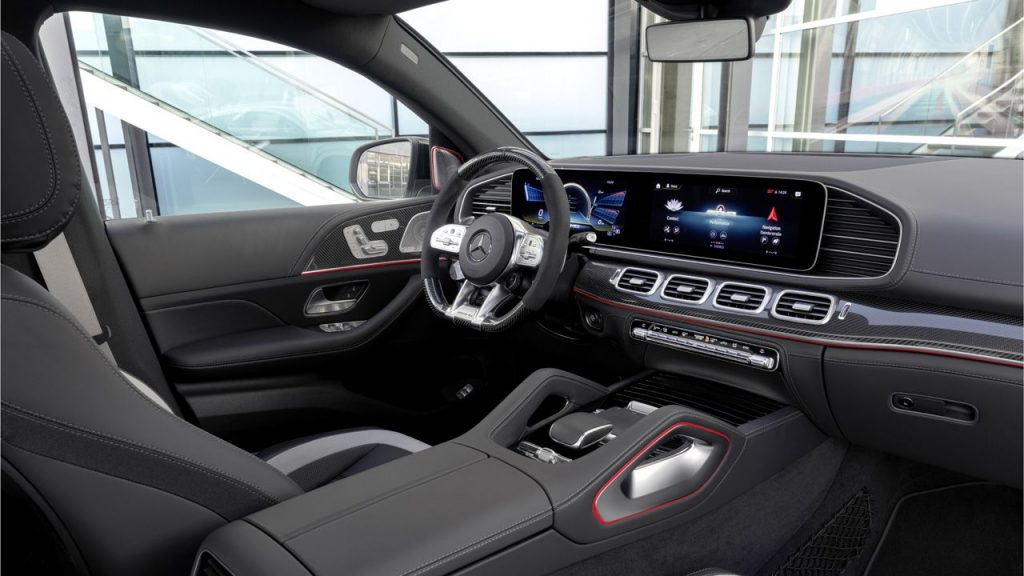 Mercedes-AMG GLE 63 S Coupe Interior
