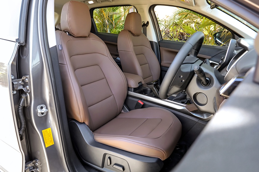Tata Harrier Front Seat