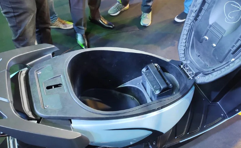 The Simple One Electric Scooter gets 30 litres of boot space