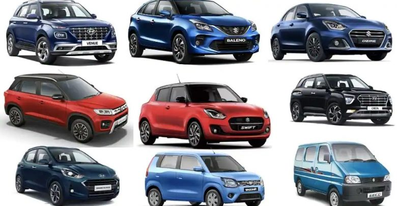 Top 10 selling cars of the last decade in India