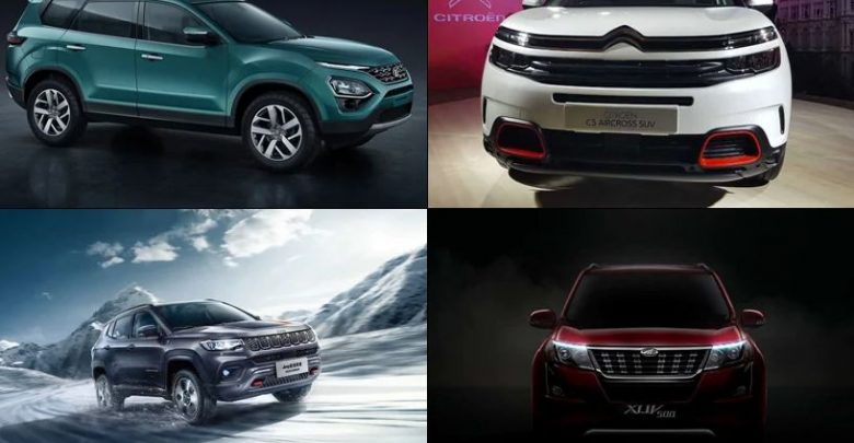 Top 5 SUV to buy in India 2021