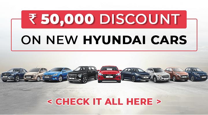 Discounts on Hyundai cars